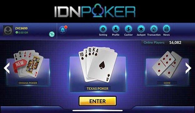Bermain Idn Poker